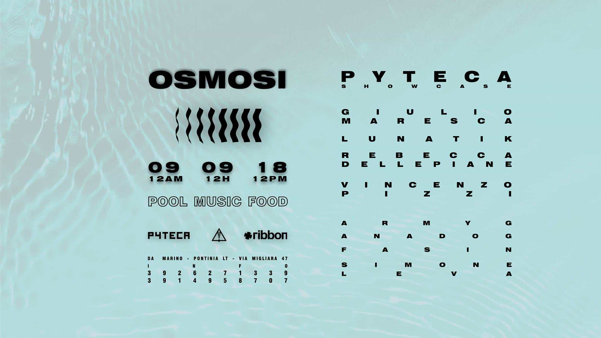 Osmosi Pyteca showcase