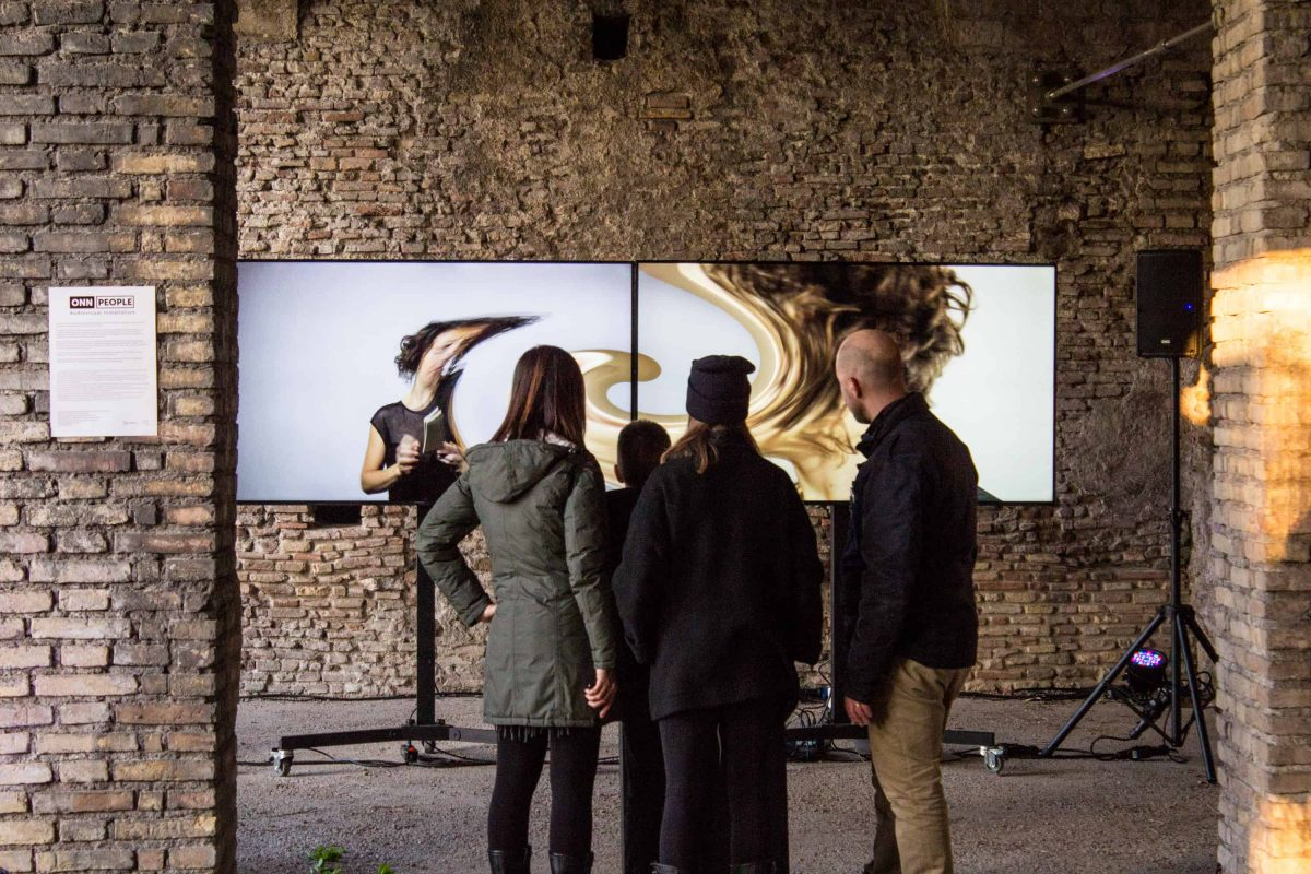 ONN People interactive installation